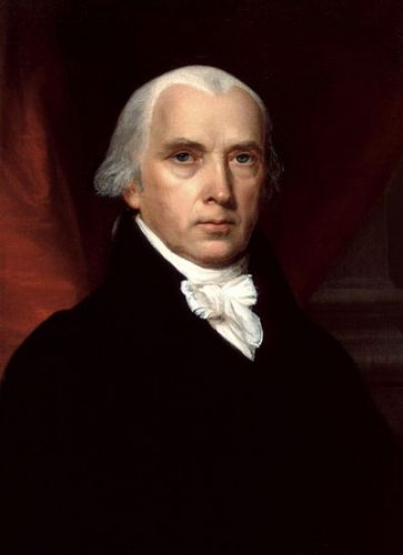 Джеймс Мэдисон, государственный секретарь США при Томасе Джефферсоне, впоследствии - четвёртый Президент США