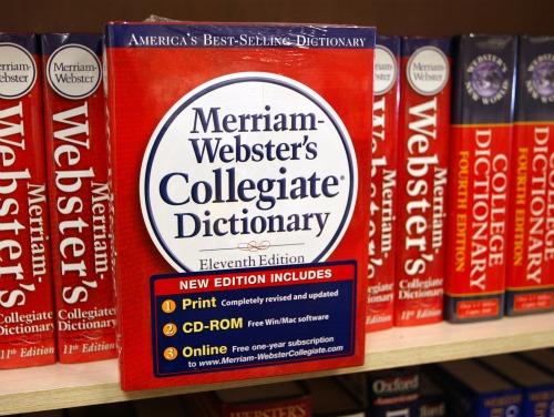 Вебстерский словарь