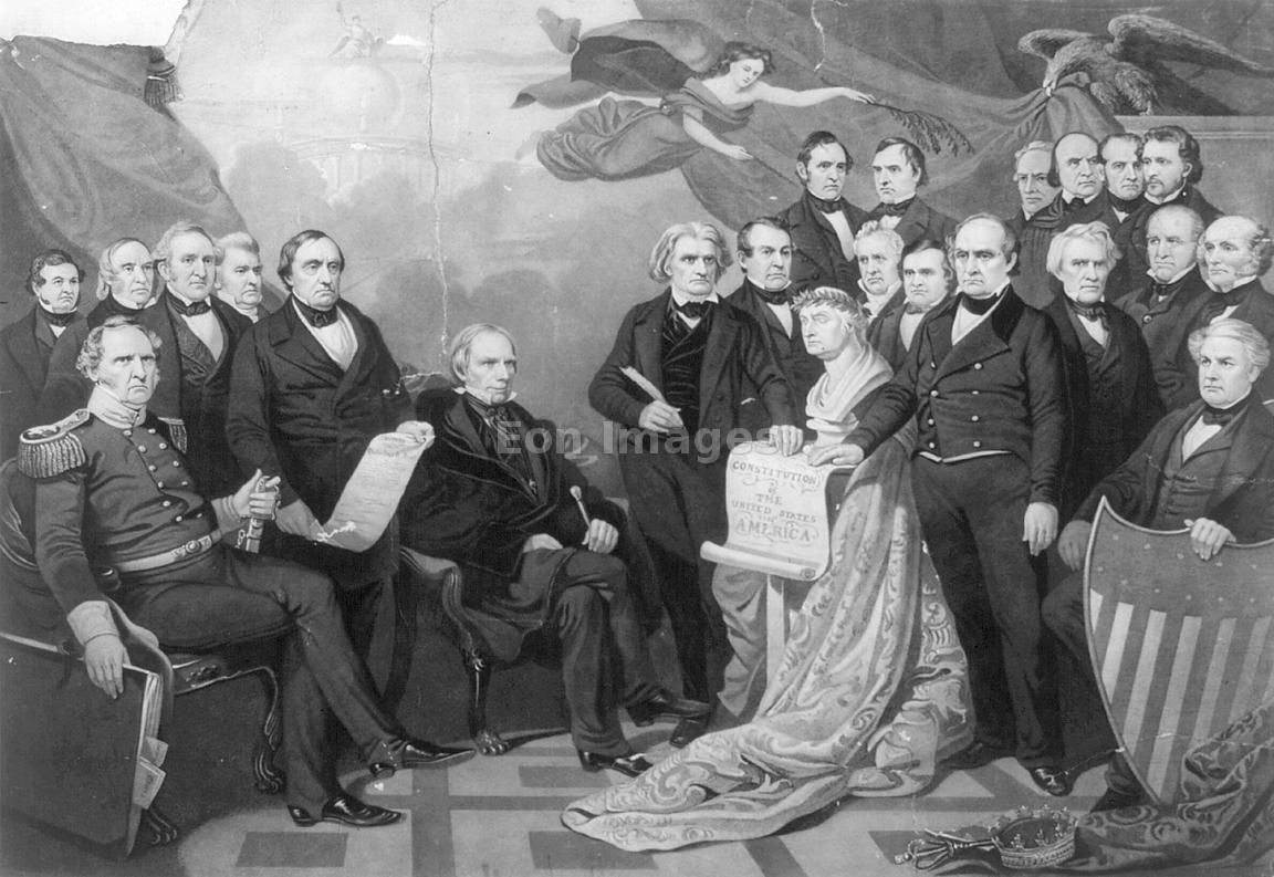 Кризис разгорелся после того, как калифорнийцы на референдуме 1849 года  высказались за запрет рабства на территории своего вновь создаваемого штата.