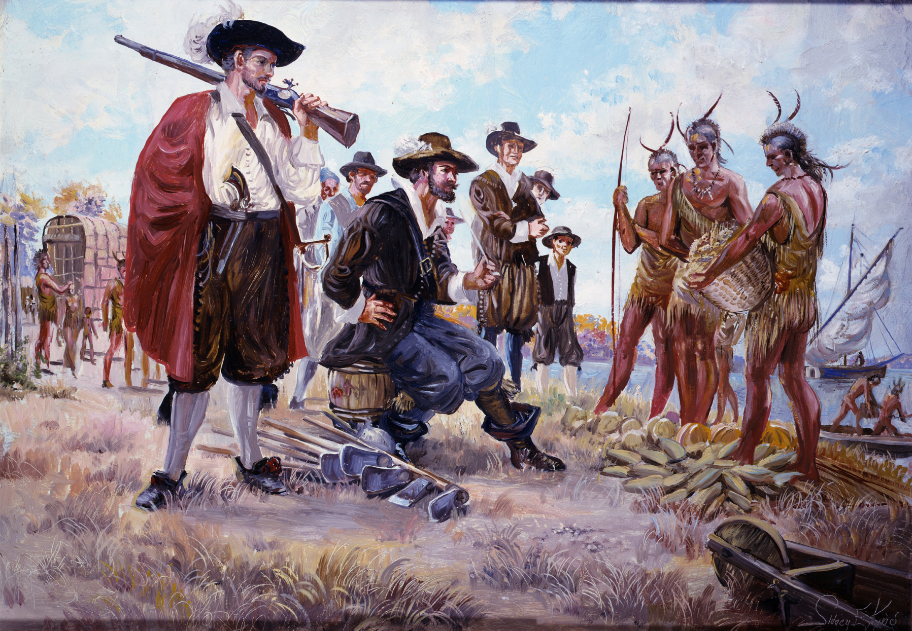 an analysis of the three most important themes of english colonization of america Most settlers who came to america in the 17th century were english perhaps most important but even more revealing is a closer analysis of the identities of.