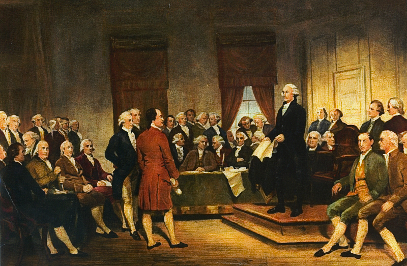 a history of american revolution and the birth of the constitution The revolution had given birth to a republic were written into the constitution—an attempt to strip american freedom of numerous works on american history.
