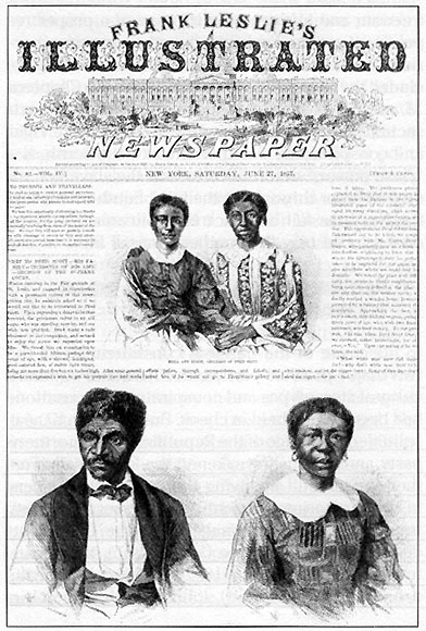 a description of dred scott who went to the first trial to sue for his freedom in 1847
