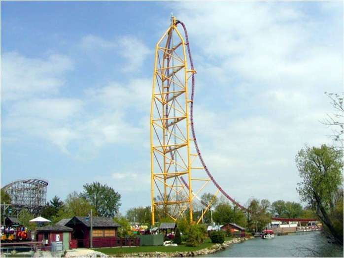 Top Thrill Dragster – Cedar Point, Sandusky, Ohio, USA